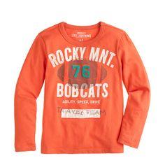 J.Crew Boys' Rocky Mnt. Bobcats tee