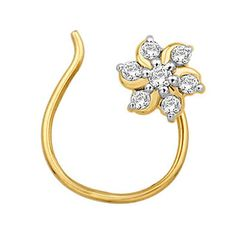 Flower nose ring. Want!