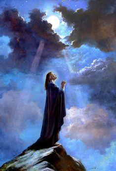Jesus Christ Painting, Jesus Art, Prayer Images, In Christ Alone, Catholic Art, Gods Love, Magick, Funny Animals, Kittens