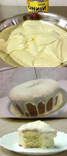 Bolo de Leite Ninho Simples  #bolo#bolodeleiteninho#comida #culinaria #gastromina #receita #receitas #receitafacil #chef #receitasfaceis #receitasrapidas