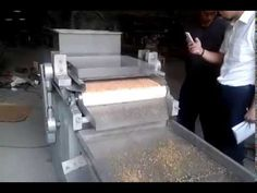 Nut Chopping Machine Working Video