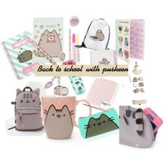 Back to school with pusheen .\\ pusheen merchandise for back to school
