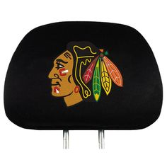 Chicago Blackhawks Head Rest Covers