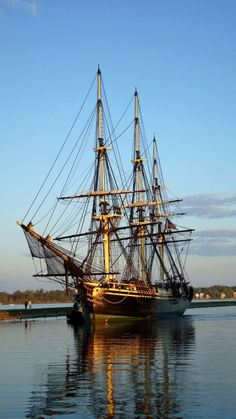 The ship Friendship-Pickering Wharf in Salem, MA