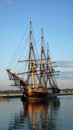 The ship Friendship-Pickering Wharf in Salem, MA