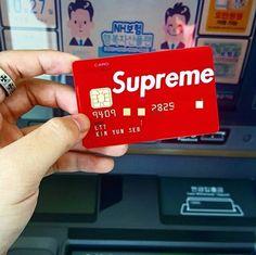 Supreme credit/debit card.