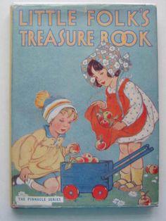 LITTLE-FOLKS-TREASURE-BOOK-Herbertson-Agnes-Grozier-Russell-Dorothy-et