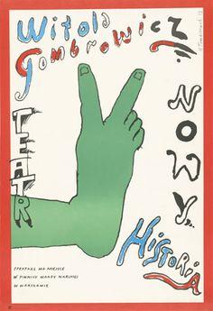 Poster Plakat Henryk Tomaszewski
