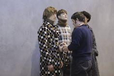 Backstage at Fendi Autumn-Winter 2016 Men Fashion Show #MFW #RTW #AW16 #Fendi #LVMH