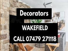 Painter And Decorator in Wakefield. Any Job, Eye For Detail, Wakefield, Free Quotes, Decor, Decoration, Decorating, Deco