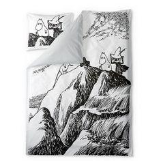 Finn Family Moomintroll duvet cover set 150 x 210 cm by Finlayson