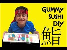 Gummy Sushi - Como hacer un Sushi de Gomita