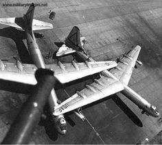 A tornado that hit Carswell AFB on Sept 1, 1952 caused massive damage to most of the B-36 fleet.