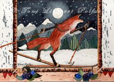 Image result for bird cross country ski