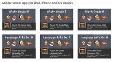 Common Core Elementary Apps Created by Teachers for the @iTooch App by EduPad!  Great Language Arts Resource!