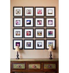 Unique Picture Display Home Decor