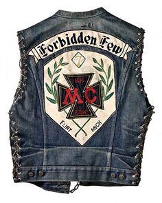 Accidental Mysteries, 11.25.12: Motorcycle Club Cuts as American Folk Art
