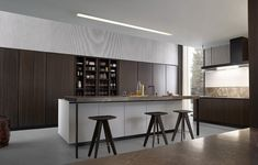 Modern Kitchen Cabinets, Kitchen Cabinet Colors, Kitchen Furniture, Kitchen Interior, Furniture Design, Kitchen Reno, Kitchen Backsplash, New Kitchen Designs, Design Your Kitchen