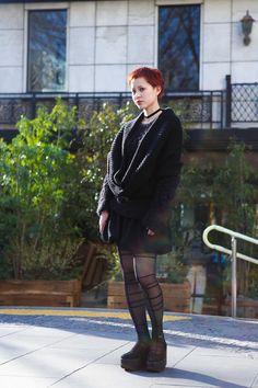 ストリートスナップ原宿 - Hiromiさん - BELLY BUTTON, LAITINEN, LIMI feu, TOKYO BOPPER…