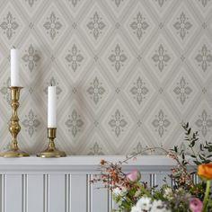 Swedish Wallpaper, Sweden House, Interior Decorating, Interior Design, Dream Apartment, Scandi Style, Living Room Inspiration, Garden Inspiration, House Goals
