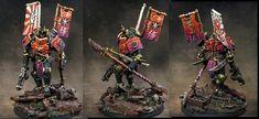 VIOLET  STUDIO  PAINT: Dreadnought Space Marines Samurai