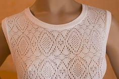 Crochet Top, Knitting, Silver, Women, Fashion, Moda, Tricot, Fashion Styles, Breien