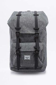 Herschel Supply co. Little America Raven Crosshatch Backpack