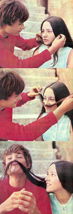 Olivia Hussey and Leonard Whiting when they were dating