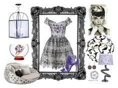 """""""Purple"""" by ilenia-aretusi ❤ liked on Polyvore featuring Livex, Alice + Olivia, Italesse, B Brian Atwood, B&B Italia and All the Rages"""