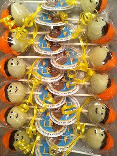 Construction cake pops www.pudgepudgecupcakes.ca