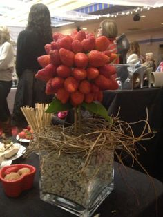 strawberry tree for the chocolate fountain