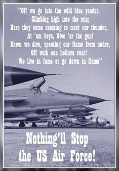 NOTHING CAN STOP THE USAF!
