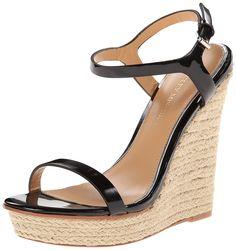 Badgley Mischka Women's Glenna Espadrille Sandal >>> Unbelievable  item right here! : Wedge sandals