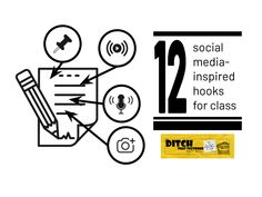 Each social media platform grabs our attention in different ways. Here are some social media activities to use those hooks to engage students. Twitter Template, Creative Video, Instagram Story Ideas, Student Engagement, Critical Thinking, Educational Technology, Textbook, Hooks, Students