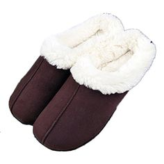 238c17a6fa650d MiYang Womens Cozy Fleece Plush House Slipper coffee L   Quickly view this  special product