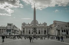 Piazza San Pietro, Roma, 2012-03-12 by menomale, via Flickr