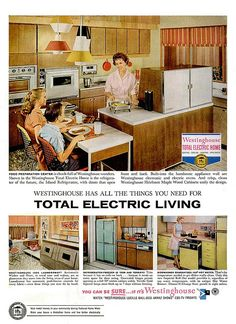 Ads commercials on pinterest vintage ads max factor and commercial - Westinghouse and living ...
