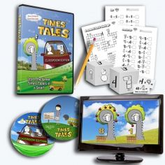 Times Tales DVD - An amazing story based approach to helping kids learn the difficult multiplication facts.  It works!