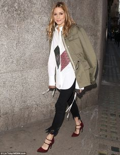 Looking good: On Saturday, Olivia Palermo was spotted looking ever so stylish during Londo...