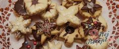 Recept Linecké pečivo Czech Recipes, Holiday Cookies, Shortbread, Christmas Baking, Gingerbread Cookies, Baked Goods, Cupcake Cakes, Biscotti, Sweet Tooth