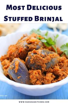 Stuffed brinjal Indian is a stuffed brinjal recipe or bharli vangi made with delicious masala stuffed brinjal made in Goan style with spices, coconut, jaggery and tamarind. Tastes spicy,sweet and tangy. Serve it with rotis, chapatis or rice. Goan Recipes, Indian Food Recipes, Real Food Recipes, Cookie Recipes, Healthy Recipes, Weeknight Recipes, Frugal Recipes, Cookie Ideas, Free Recipes