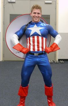 Male Cosplay, Best Cosplay, Cosplay Costumes, Awesome Cosplay, Cosplay Ideas, Captain America Cosplay, Men Dress Up, Super Hero Costumes, Good Looking Men