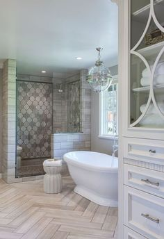 Cool 88 Modern Rustic Farmhouse Style Master Bathroom Ideas. More at http://88homedecor.com/2017/12/27/88-modern-rustic-farmhouse-style-master-bathroom-ideas/ #traditionalbathroom