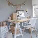 19 Best ideas for home office design loft interiors Bedroom Desk, Wood Bedroom, Bedroom Rustic, Diy Bedroom, Home Office Design, Home Office Decor, Home Decor, Office Designs, Office Furniture