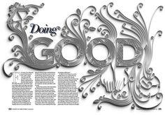 Amazing Paper Typography   Abduzeedo   Graphic Design Inspiration and Photoshop Tutorials