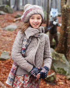 """""""In this image: Sweater (1087C6231); Skirt (4BVJ50330); Scarf (6VN9B5174); Hat (6VN9B41AL); Gloves (6KV7B313M). Winter 2012 United Colors of Benetton Kid and Tween collection."""" I can see my little one wearing this beautiful sweater.."""