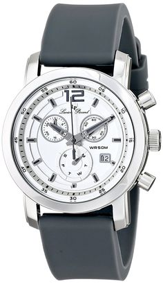 Lucien Piccard Men's LP-12585-02S-GRY Toules Analog Display Swiss Quartz Grey Watch -- To view further for this watch, visit the image link.