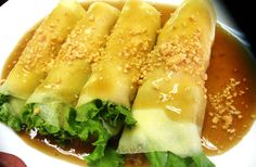 Fresh Lumpia - Lumpiang Sariwa #Foods #Recipes #FilipinoFoodsRecipes #Filipino