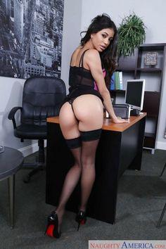 Ass Bikini Latina Brunette Veronica Rodriguez Naughty Office