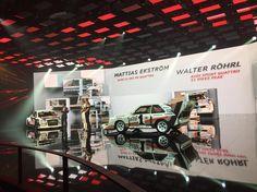 Walter Röhrl and Mattise Ekström just drove up. That S1 Quattro!